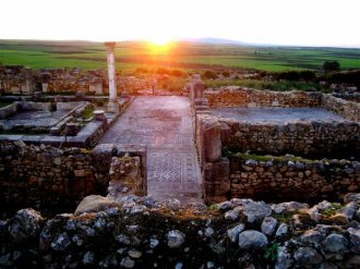 Roman Ruins at Volubulis