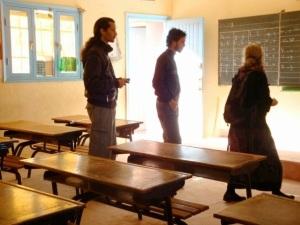 Teachers in Sidi Ifni