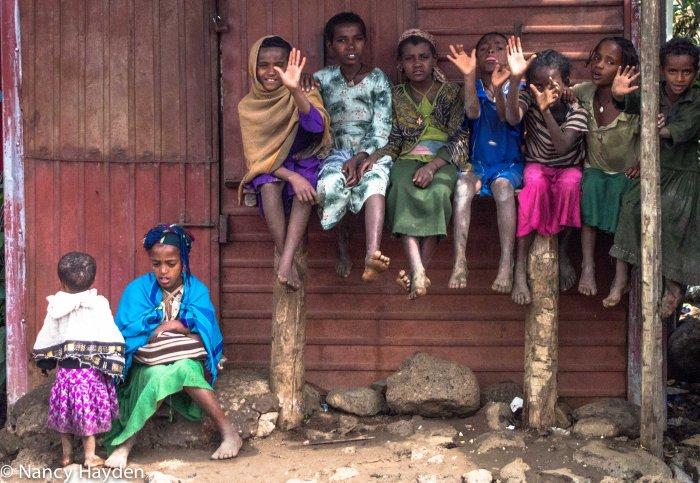 Rural Ethiopia: Faces